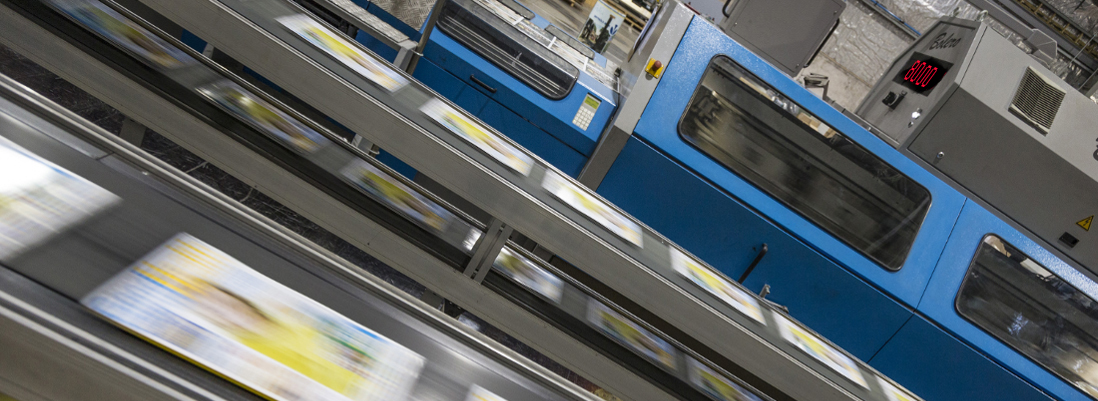 <small> The leader in </small><br><big> high-volume, <br>high-quality  </big><br>printing